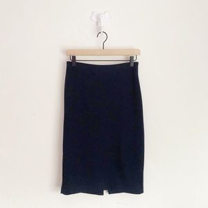 Premise Studio Navy Blue Pencil Skirt Size 2